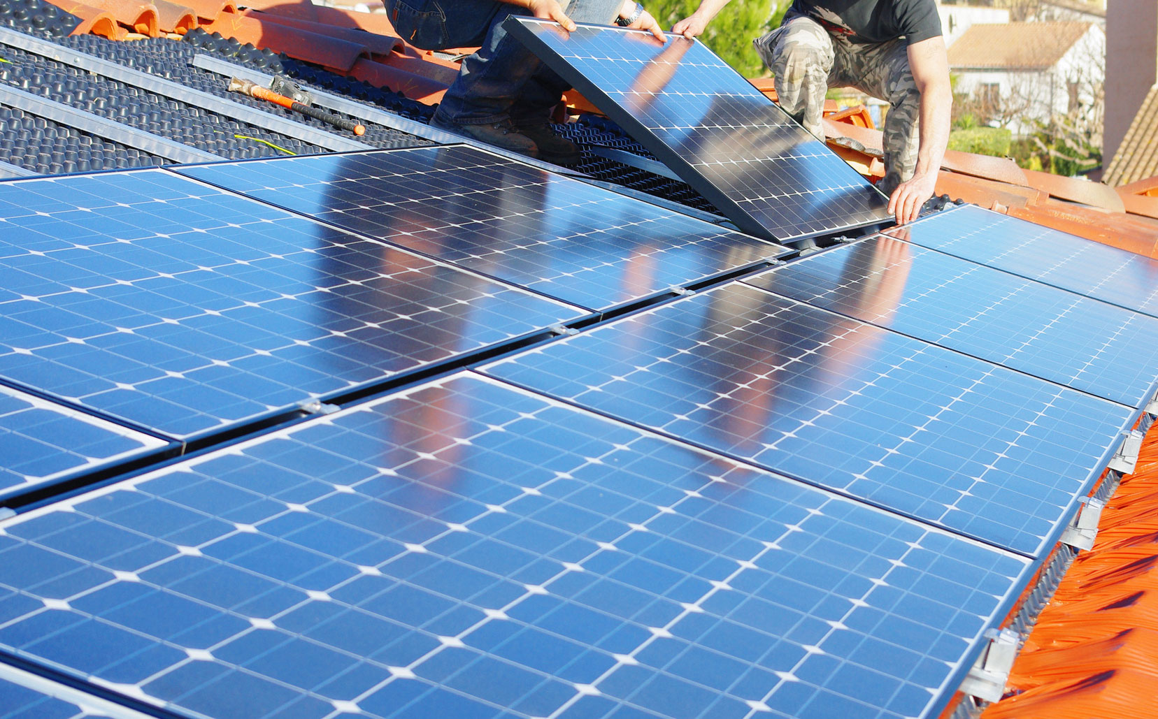 photo panneaux solaires ferret